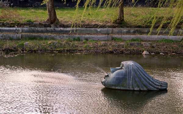 Vandskulpturen Skuld