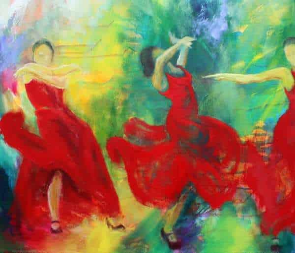 Malerier kunstner i Skuldelev